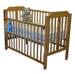Babyhood Folding Timber Cot