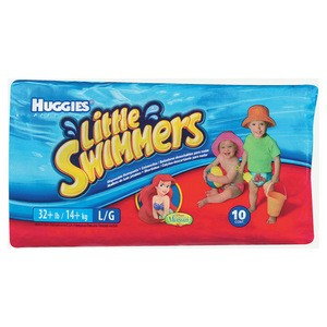 Huggies Little Swimmers Large 14kg+ 10 pack